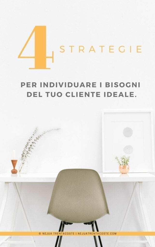 4 STRATEGIE PER INDIVIDUARE I BISOGNI DEL TUO CLIENTE IDEALE-2