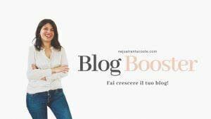Corso blog Booster